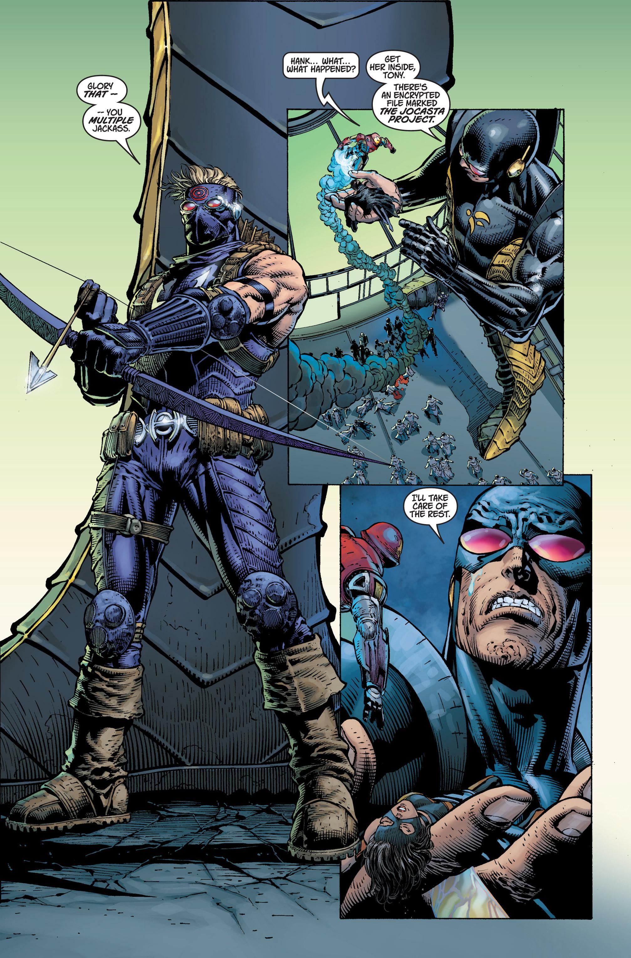 Read online Ultimatum comic -  Issue #3 - 16