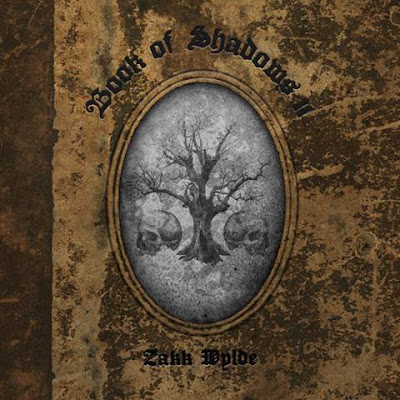 Zakk Wylde - Book Of Shadows II - cover album - 2016