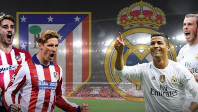 موعد مباراة ريال مدريد واتلتيكو مدريد الأحد 8-4-2018 ضمن الدوري الأسباني والقنوات الناقلة