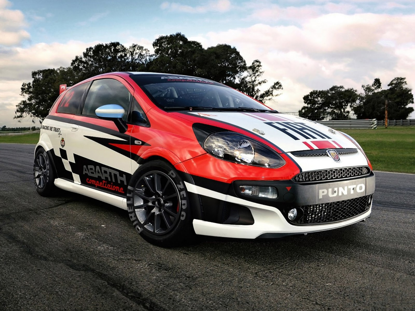 all tuning cars nz 2012 abarth fiat punto competizione. Black Bedroom Furniture Sets. Home Design Ideas