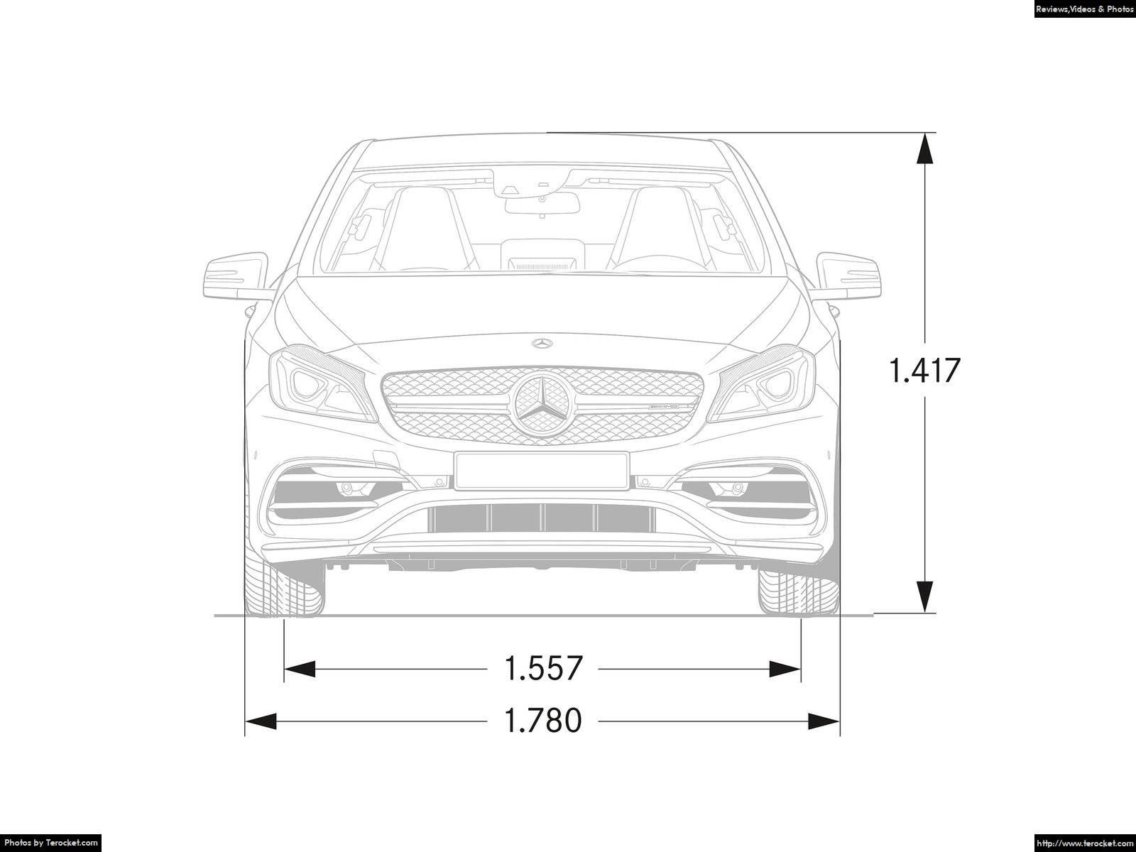 Hình ảnh xe ô tô Mercedes-Benz A45 AMG 4Matic 2016 & nội ngoại thất