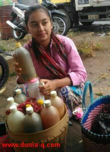 penjual jamu di jonggol