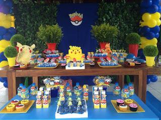Aniversário Festa Pokemon Go