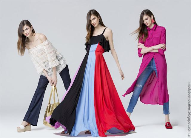 Moda 2017. Carmela Achaval primavera verano 2017. Moda primavera verano 2017 vestidos, blusas, pantalones.