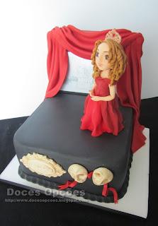 bolo teatro princesa castelo bragança