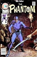 The Phantom v2 #69 charlton comic book cover art by Don Newton