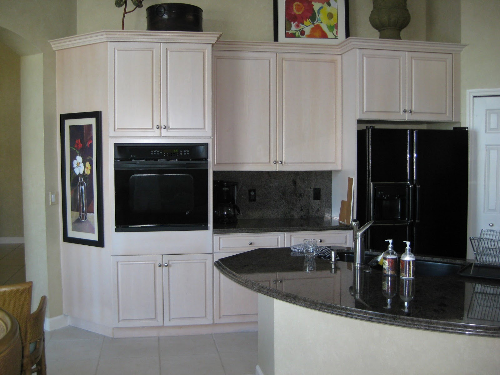 Array Of Color Inc Faux Wood Finish Kitchen Cabinets
