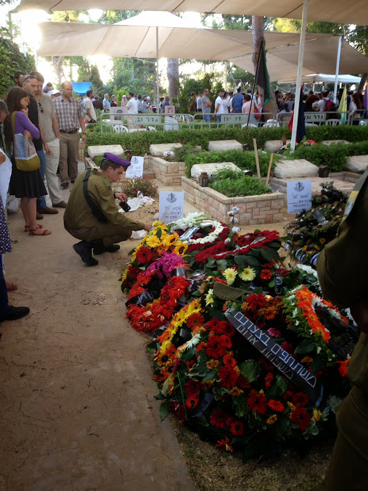 A Funeral in Israel