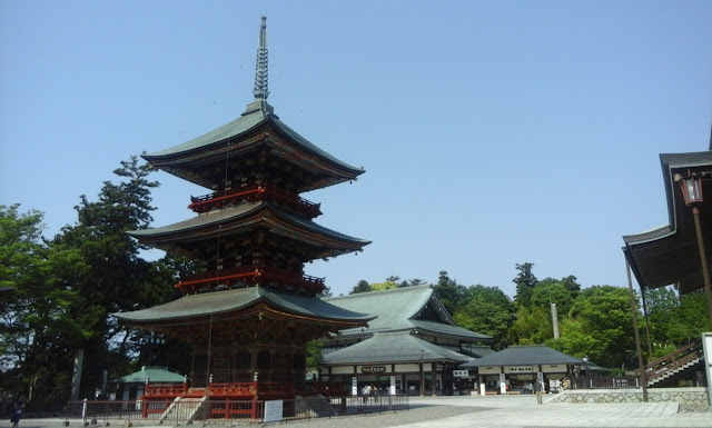 temple in Nariat Town, japan