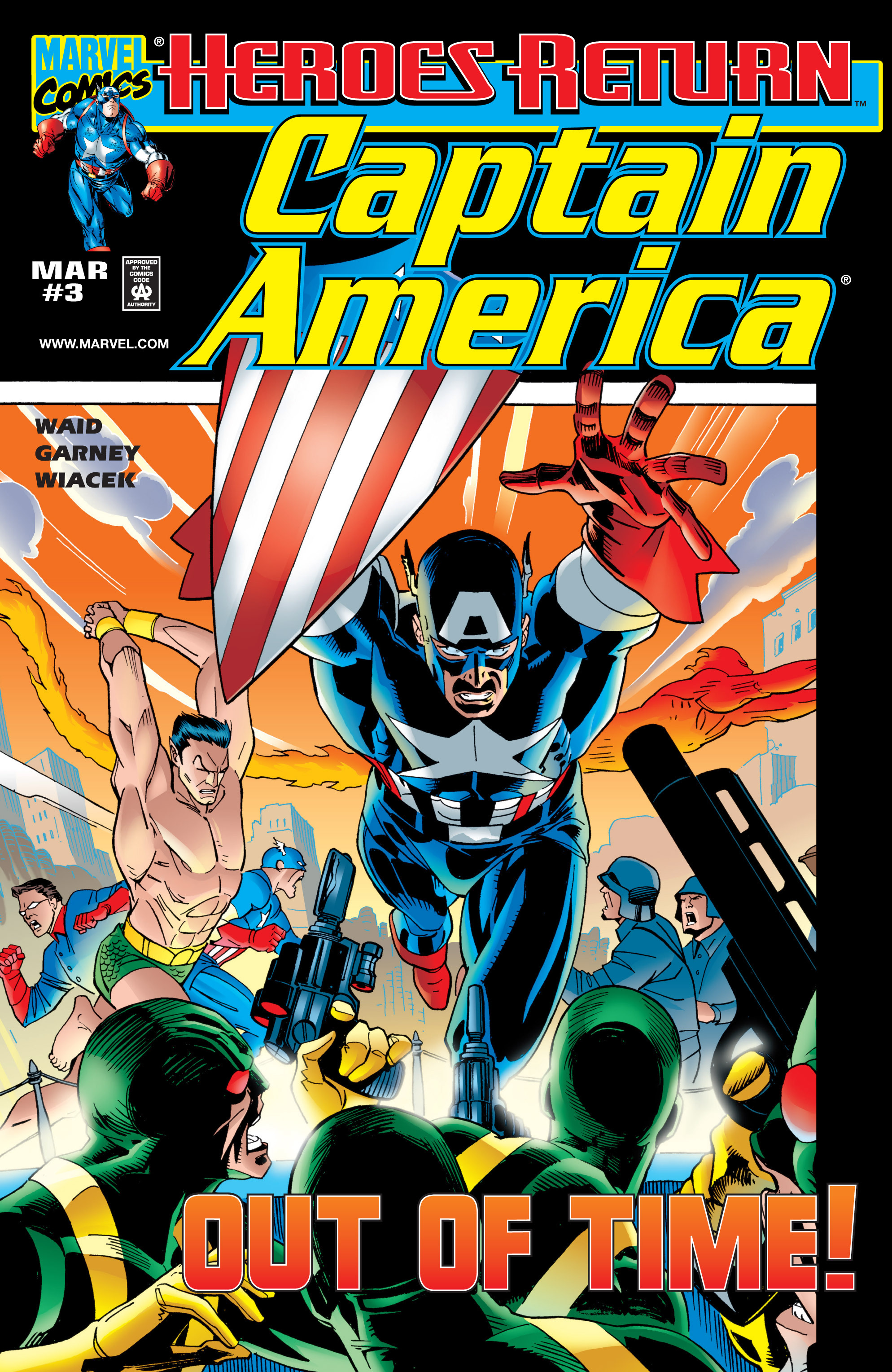 Captain America (1998) 3 Page 1
