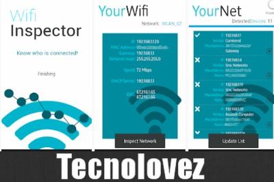 Wifi Inspector - Come vedere gli Indirizzi Ip collegati alla nostra rete wifi