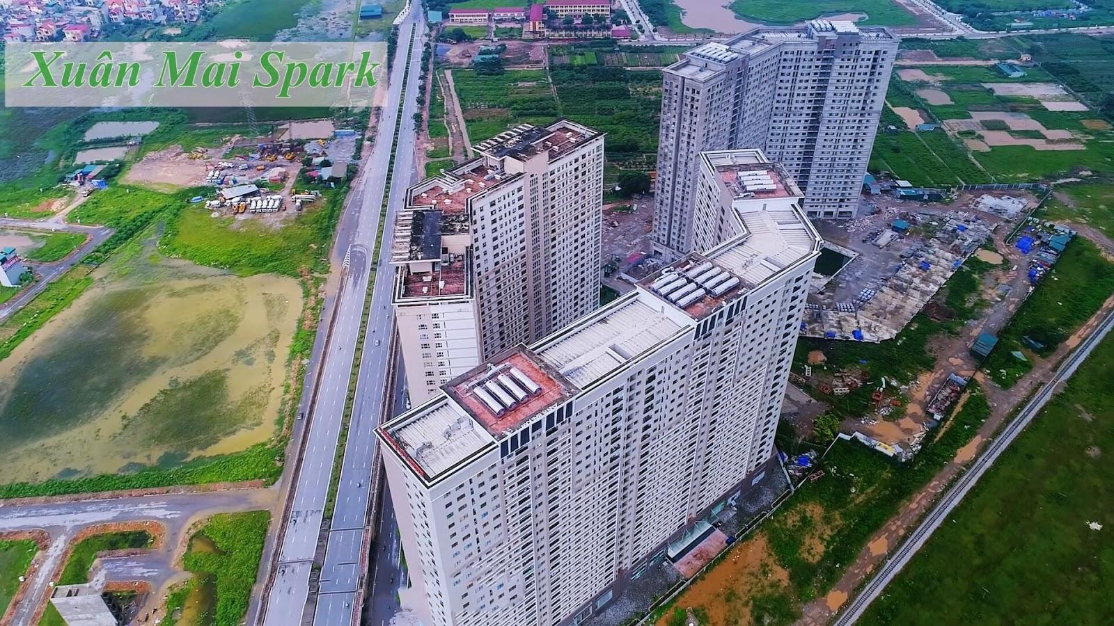 Dự án Xuân Mai Spark Tower Dương Nội