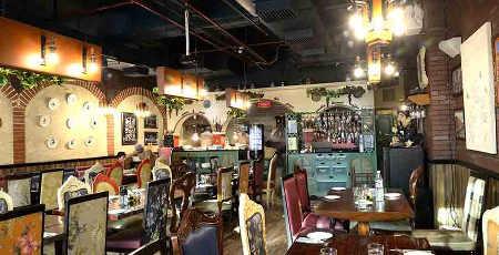 Italiano-Cyber-Hub-Thecozyflareblog, Italiano DLF cyber hub, Best italian cuisine place, foodies