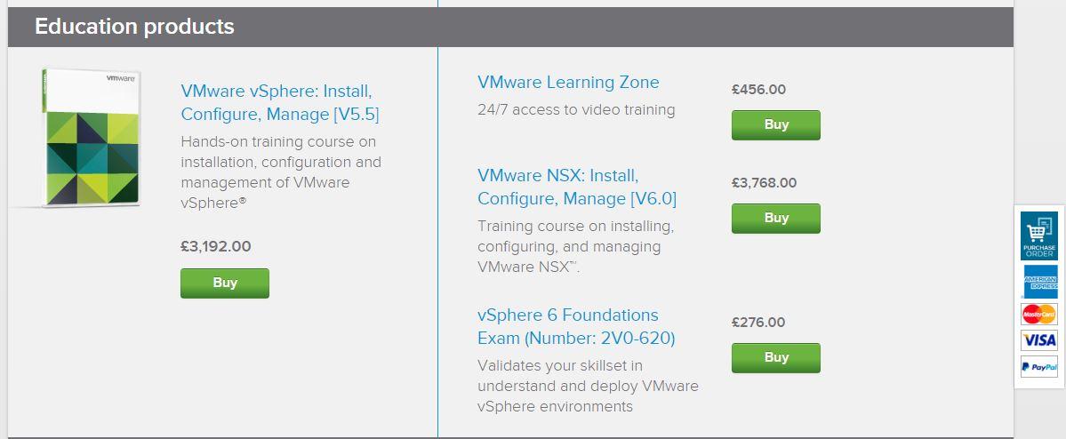 Data Center Virtualization with VMware vSphere - Installing