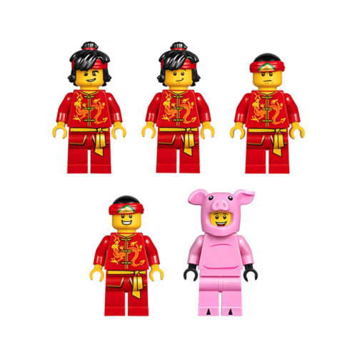 Troupe of Dragon Dance LEGO Sets