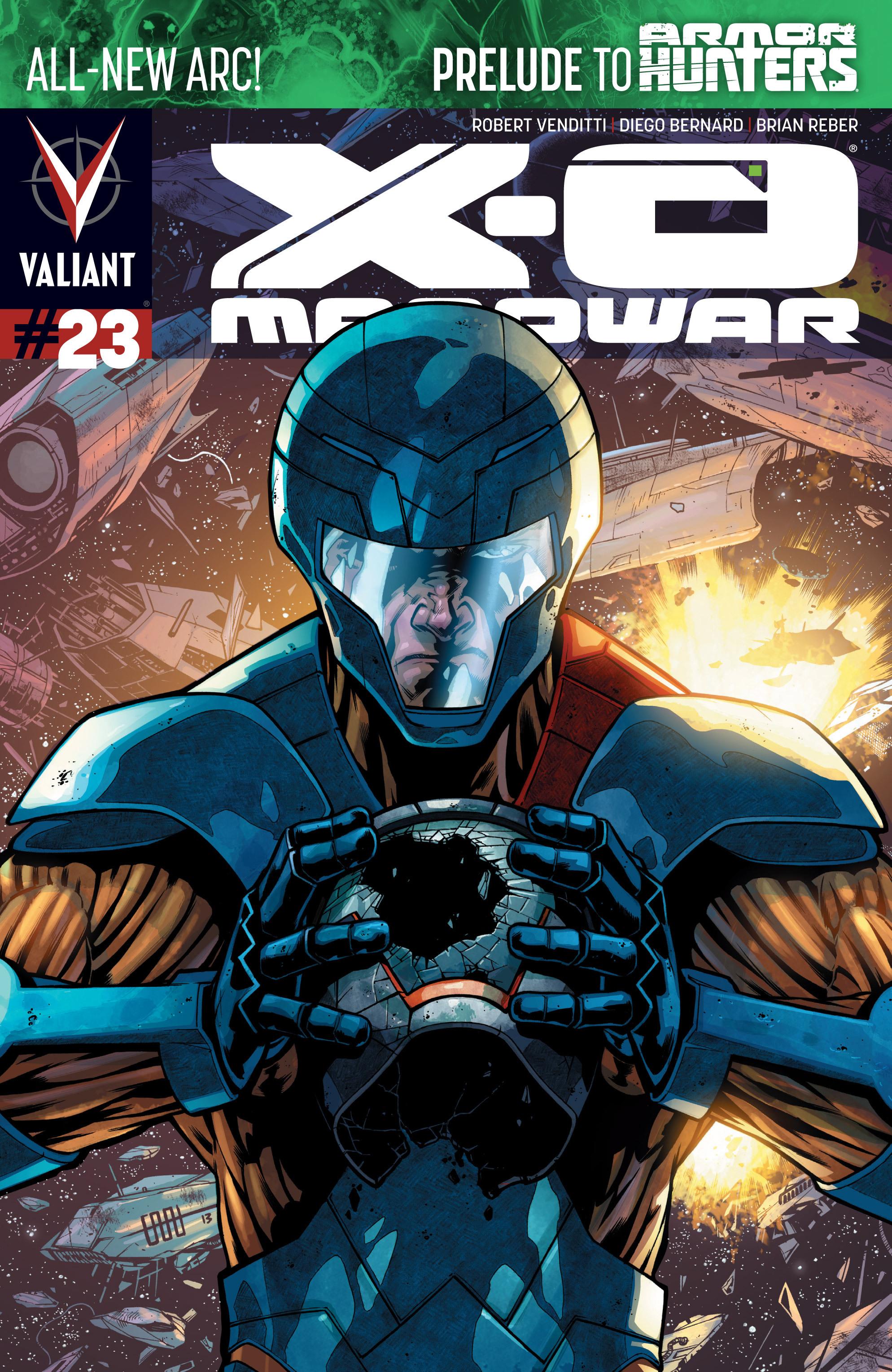 X-O Manowar (2012) 23 Page 1