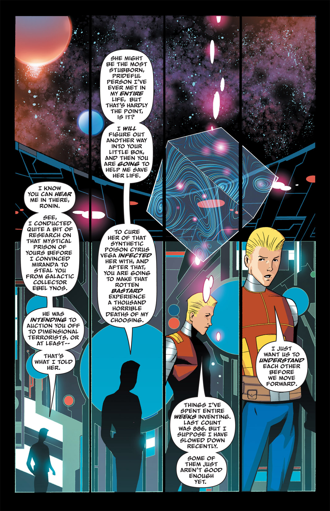 Read online The Many Adventures of Miranda Mercury: Time Runs Out comic -  Issue # TPB - 36