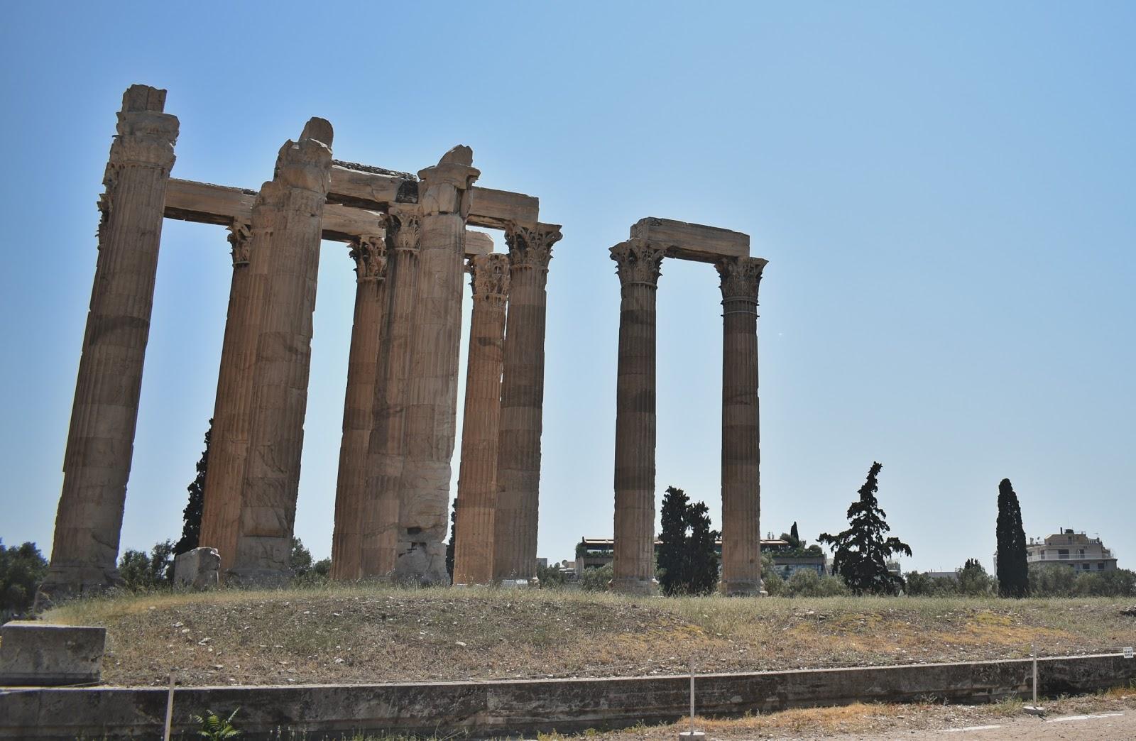 templo do zeus olímpico
