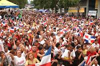 Resultado de imagen para fotos de dominicanos desfilando en nueva york