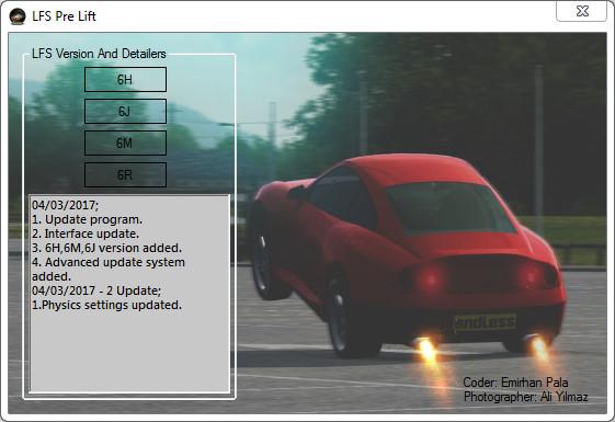 LFS Pre-Lift Mod (6R) Special FZ5 Mod