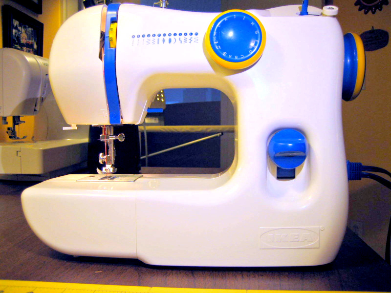 Coco's Loft IKEA SY Sewing Machine Adorable Review Ikea Sewing Machine