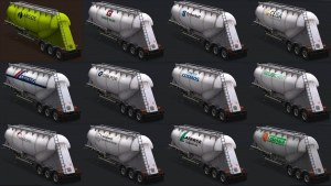 15 Cement Tanks