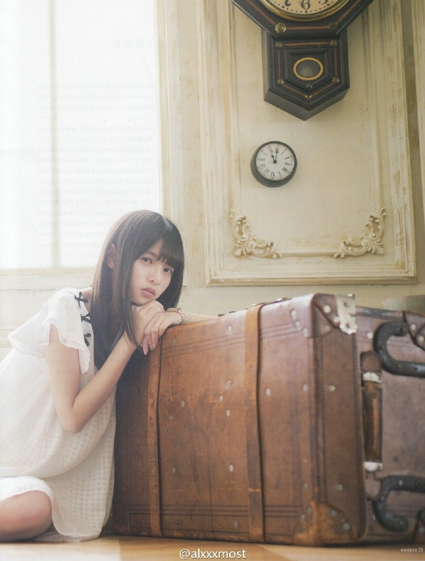 Saito Asuka 齋藤飛鳥 Nogizaka46, MARQUEE Magazine 2016 Vol.115 Gravure