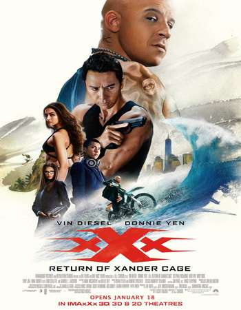 xXx Return of Xander Cage 2017 poster