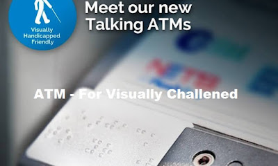 Talking ATM For Visually Challenged - Important Points