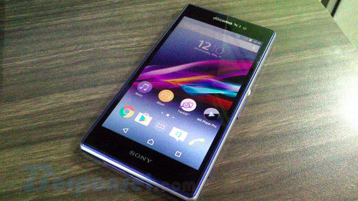 Spesifikasi dan Harga Sony Xperia Z1 Docomo