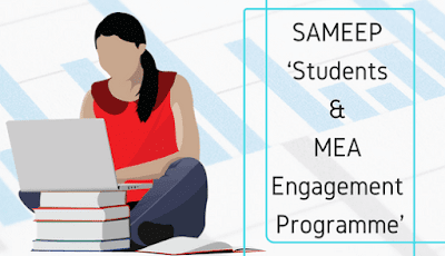 SAMEEP – 'Students and MEA Engagement Programme'