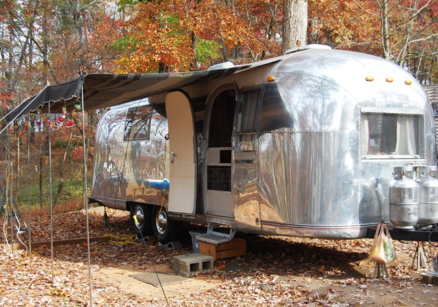 Our Airstream Passion A Cheap Vintage Awning