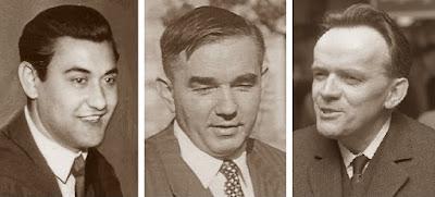 Los ajedrecistas Torán, Kotov y Pachmann