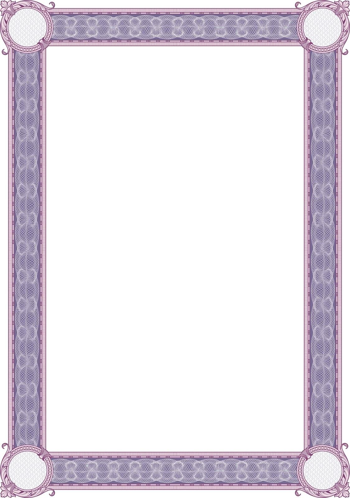 bingkai border piagam vector 3 banua sablon banua sablon