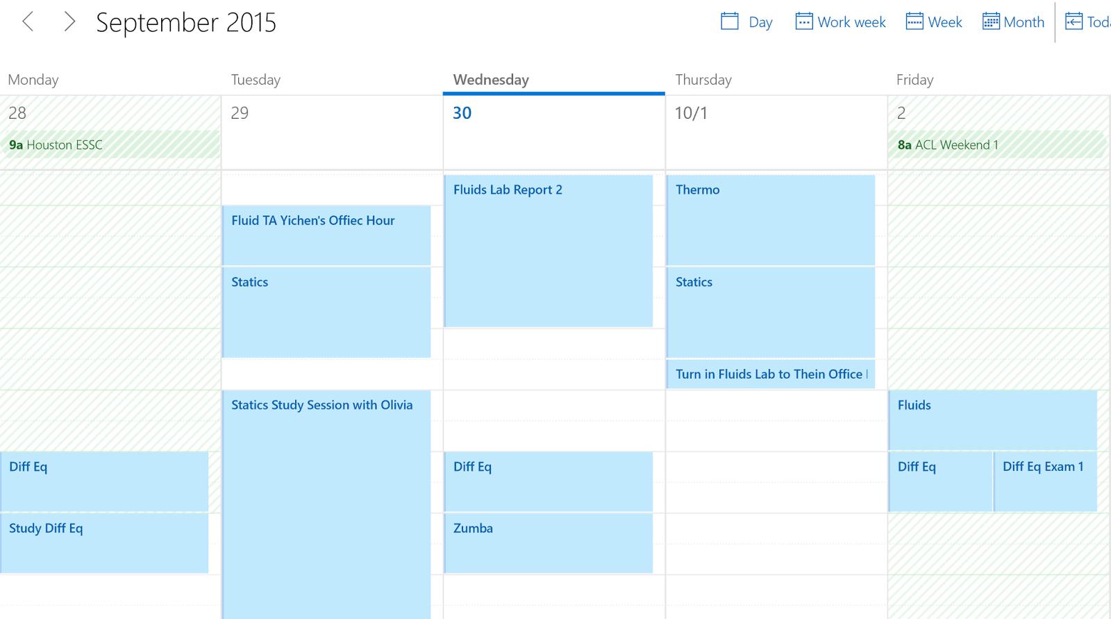 windows 10 google calendar schedule