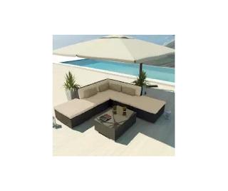 Blue Sofa Set, Outdoor Furniture, Uduka Blue Wicker Sofa Set, Uduka Porto 6, Uduka Porto 6 Wicker Sofa Set, Wicker Patio Furniture, Wicker Sets,