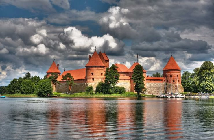 7. Trakai, Lithuania - Top 10 Medieval Towns in the World
