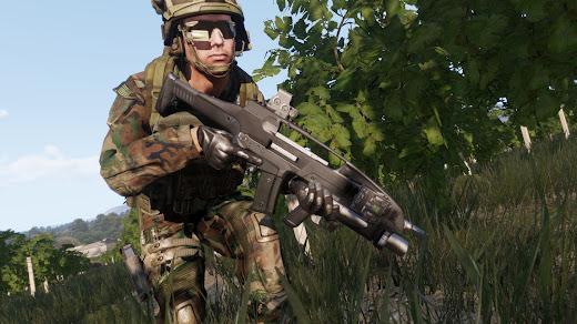Arma3用XM8武器アドオン