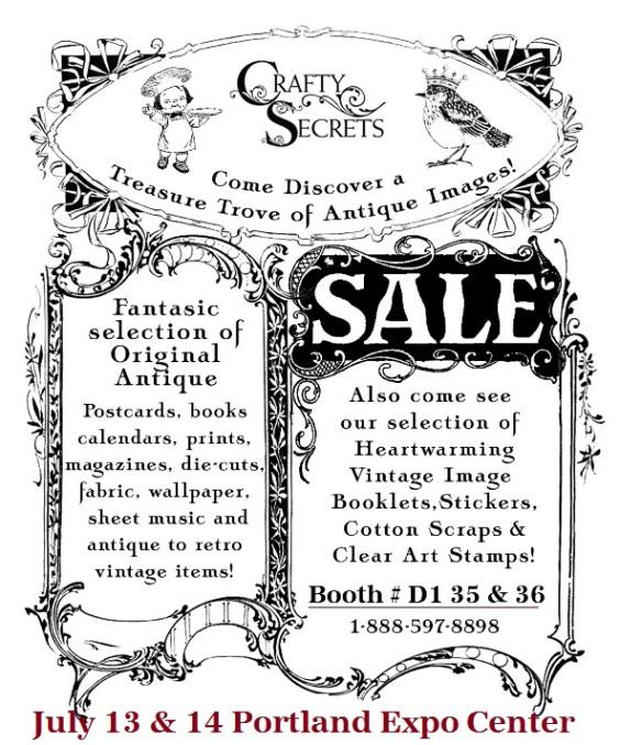 Crafty Secrets Heartwarming Vintage Ideas and Tips: 2014