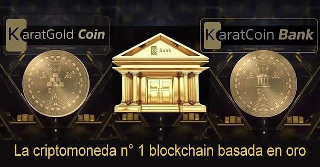 karatgold criptomoneda basada en el oro