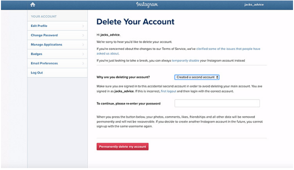 How To Delete An Instagram Account - 97.4KB