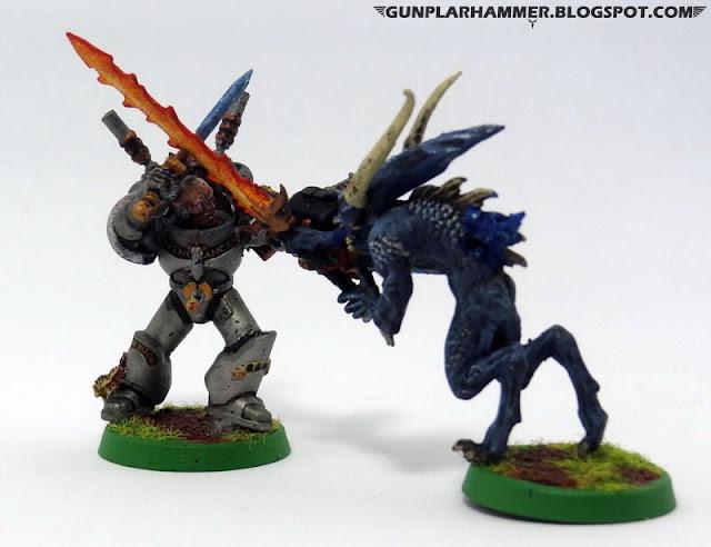 Dynamic Pose Bloodletter VS Grey Knight