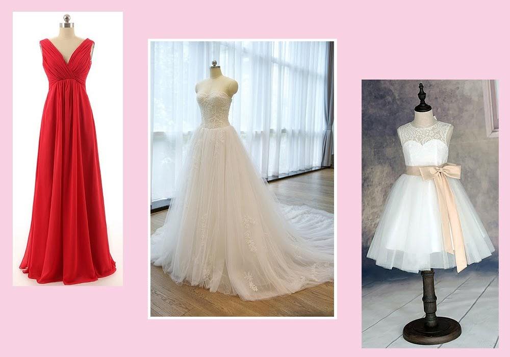 Wedding Dresses at Dresshopau