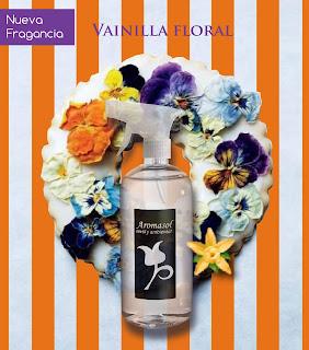 Perfume textil de vainilla