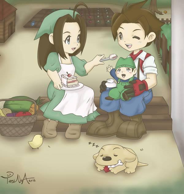 Cara Meningkatkan Skill Anak di Harvest Moon A Wonderful Life