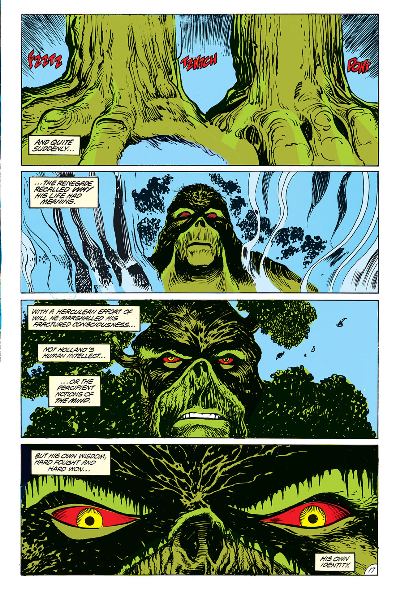 Swamp Thing (1982) Issue #69 #77 - English 14