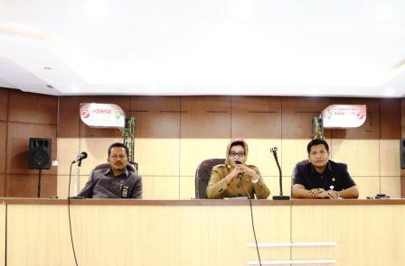 Kejaksaan Subang Sosialisasikan TP4D Dihadapan Para Camat dan Kades