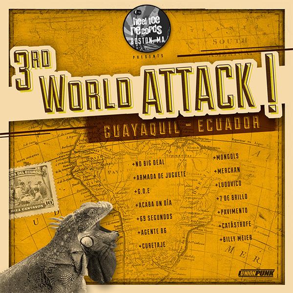 "Heel Toe Records stream new compilation ""3rd World Attack!"""