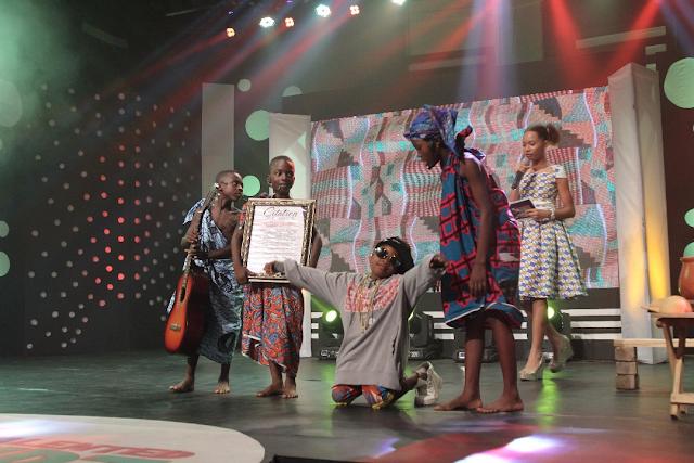Tv3 Talented Kids Contestants Celebrates Highlife Legends