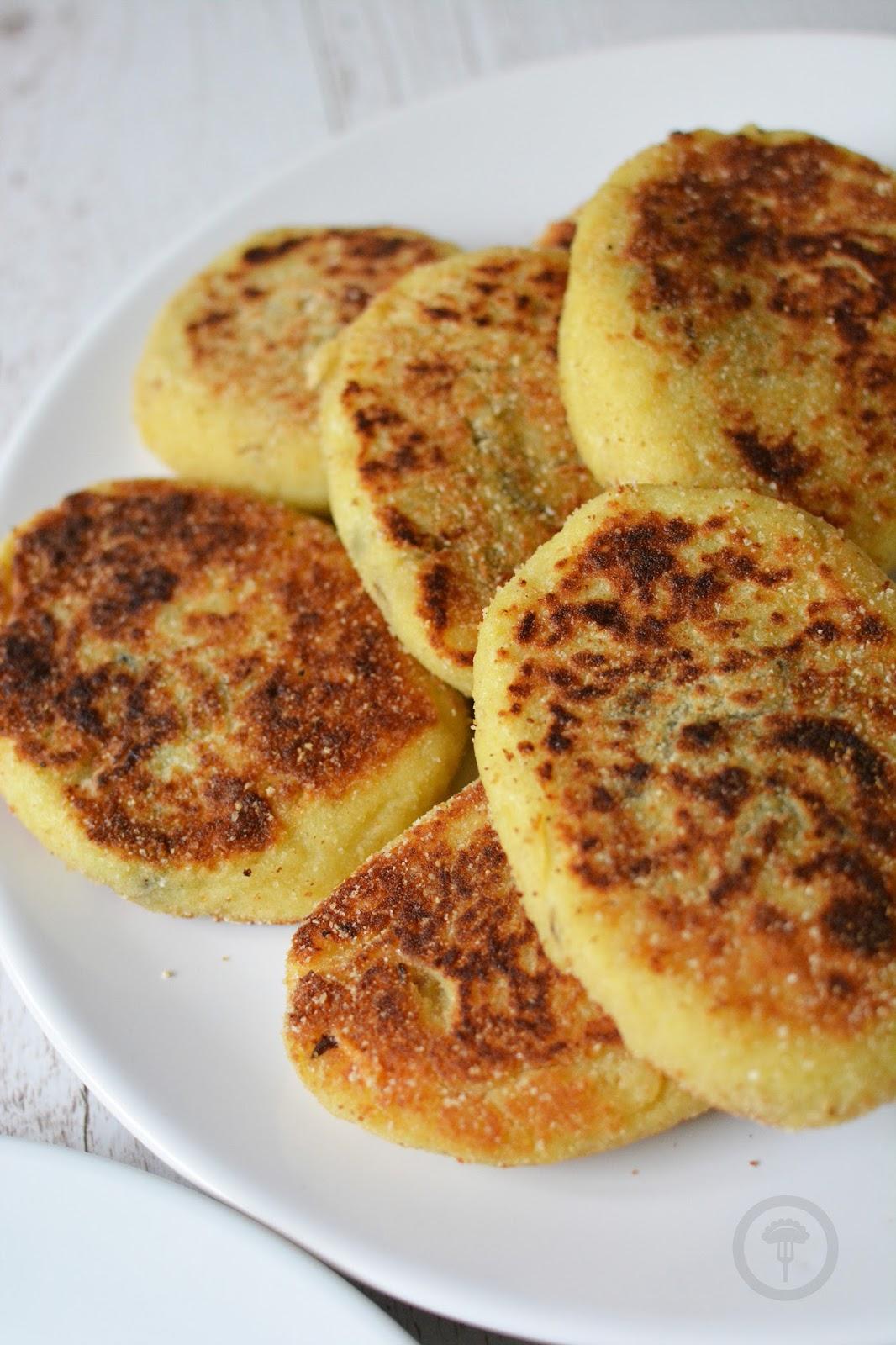 kotlety ziemniaczane z ziemniakami
